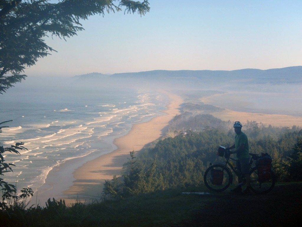 Cape Lookout bicycle touring