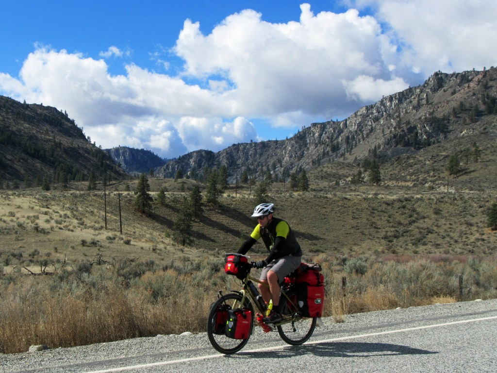 Doug on the very scenic Apple Acres Road in Chelan County.