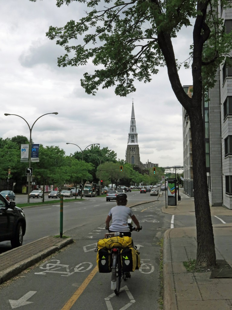 Montreal was a joy to cycle in.