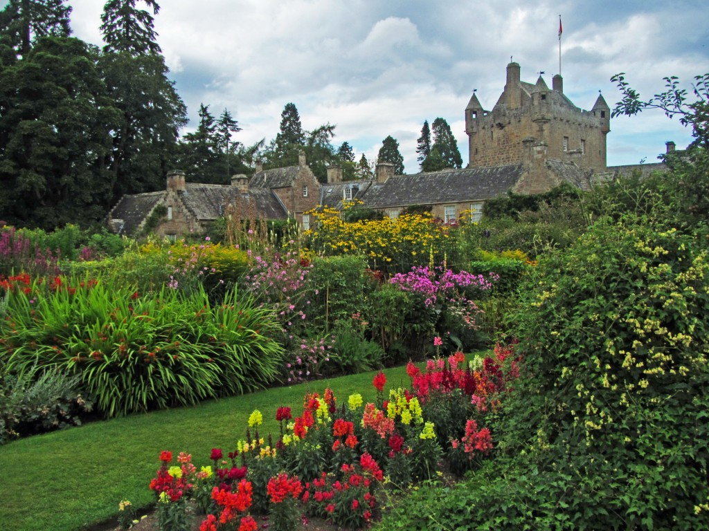Cawdor Castle from the botanical gardens