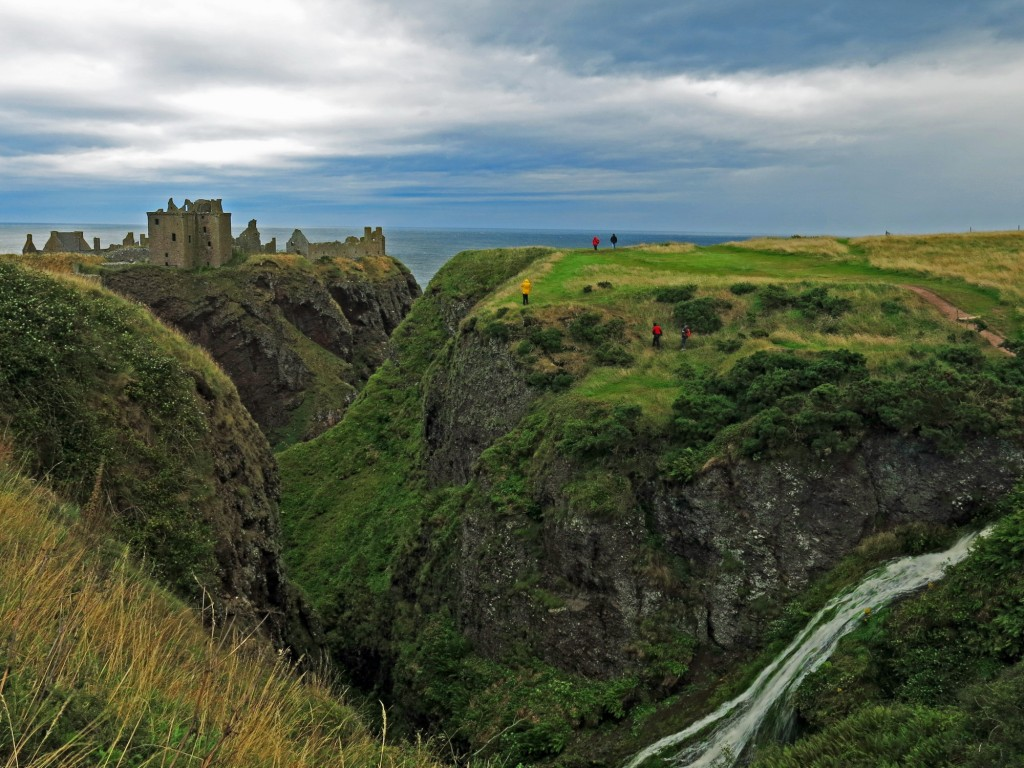 Dunnottar Castle, modern-day fairy tale.