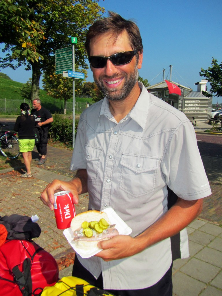 Just call me Dirk when I'm eating a raw herring sandwich.