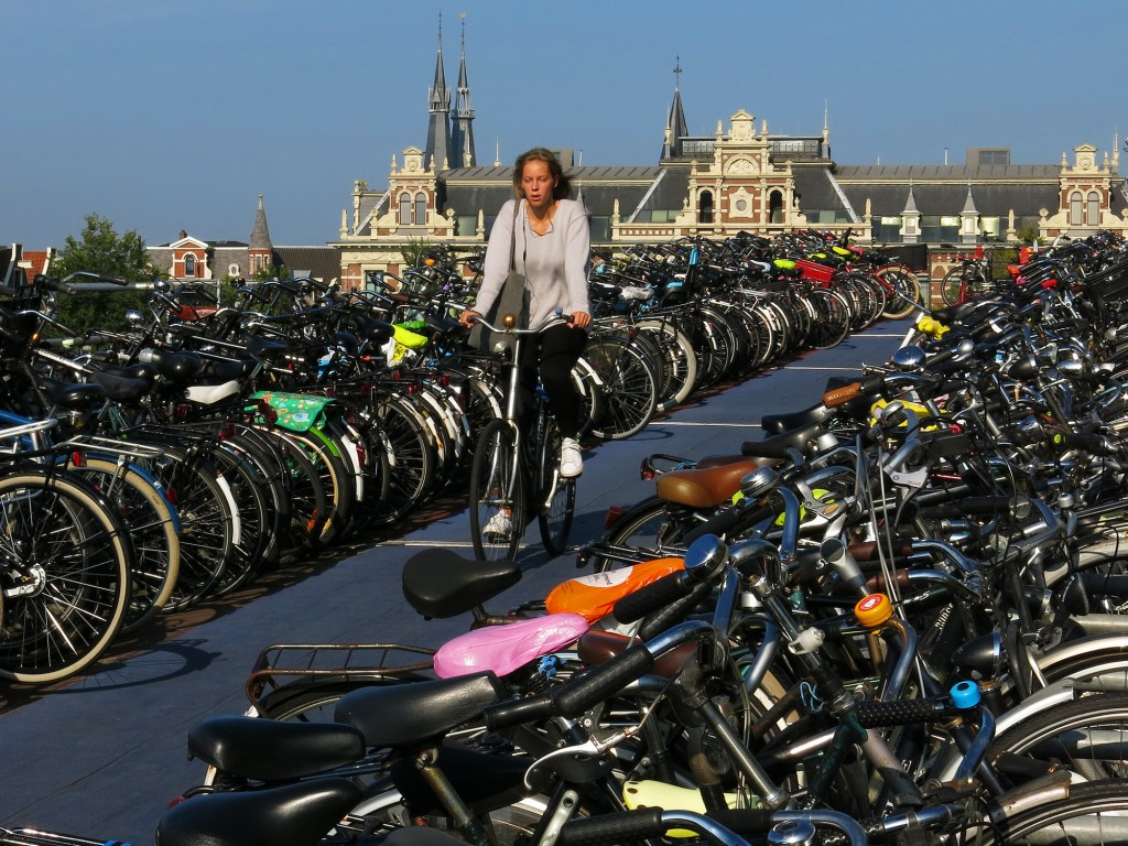It took a while, but this Dutch woman eventually did find her bicycle.