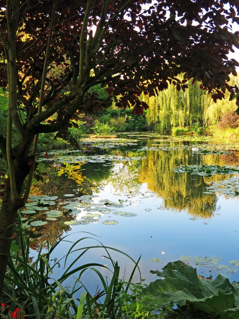 Visiting Claude Monet's famed water garden at his home in Giverny was a highlight of our time in France.
