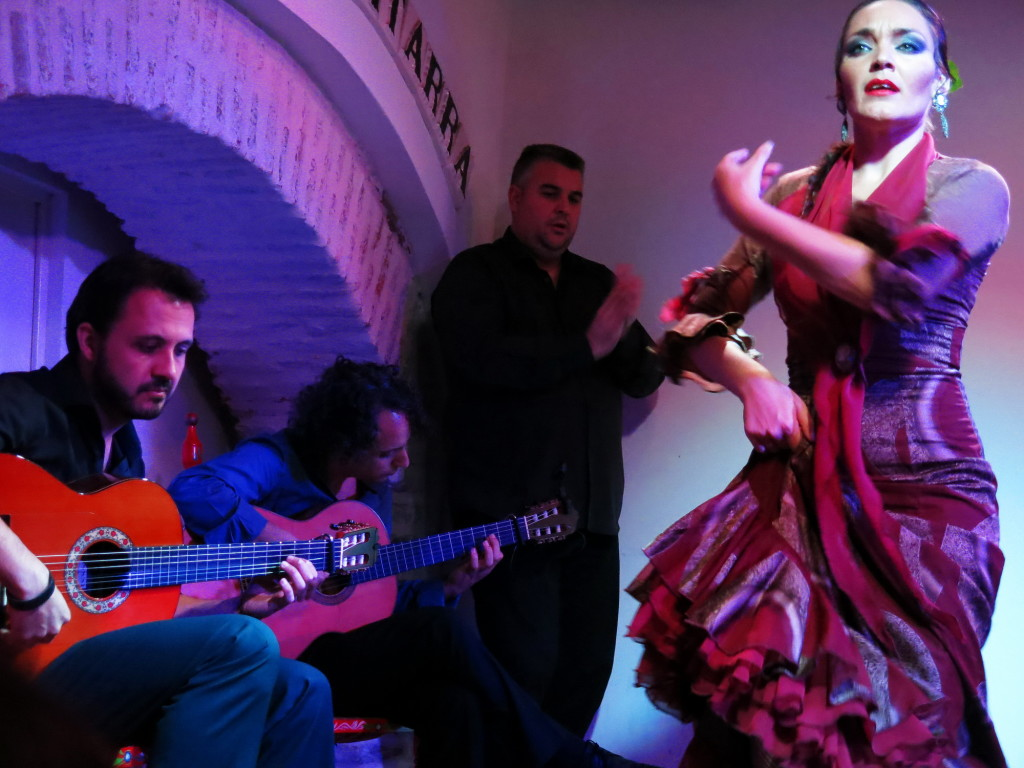 So much energy in flamenco, especially from such a close distance.