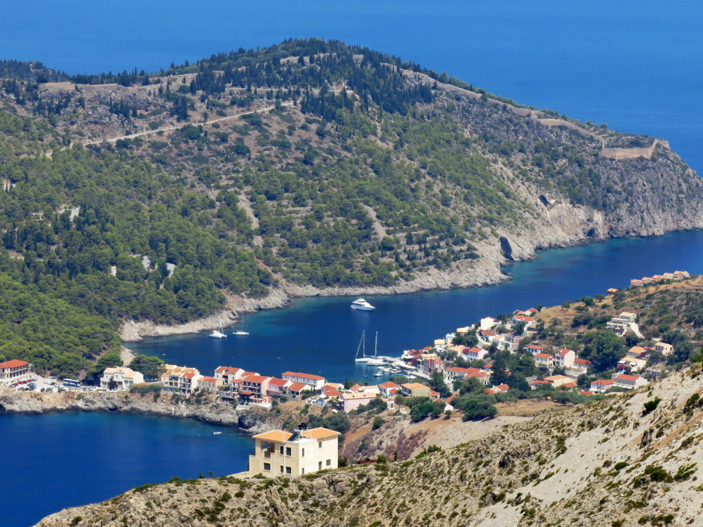 The gorgeous village of Assos.