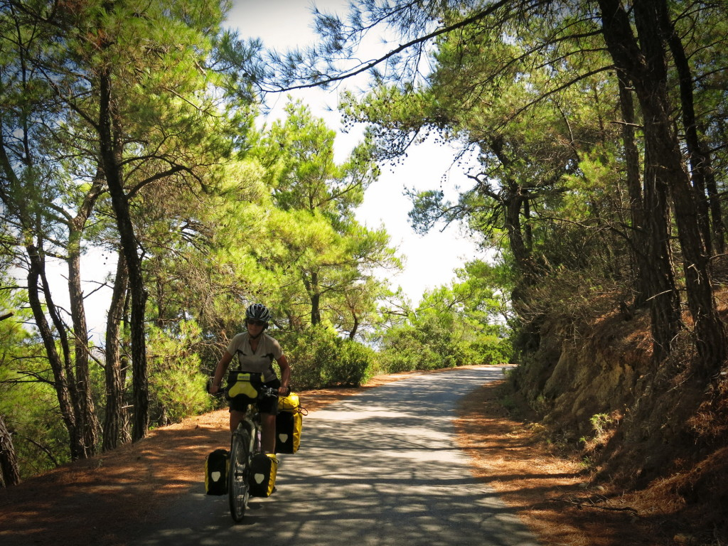 One of our favorite roads ever, from Prina to Kroustos on the island of Crete.