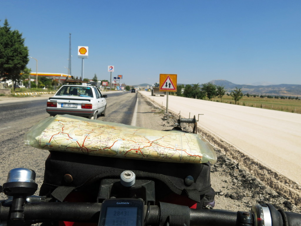 Lots of construction in Turkey. 2-lane highways being converted to divided 4-lane highways everywhere we go.