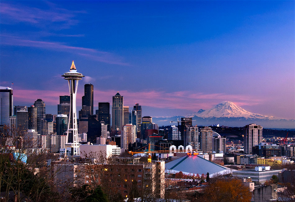 That beautiful Seattle skyline. Photo by Larry Gorlin.