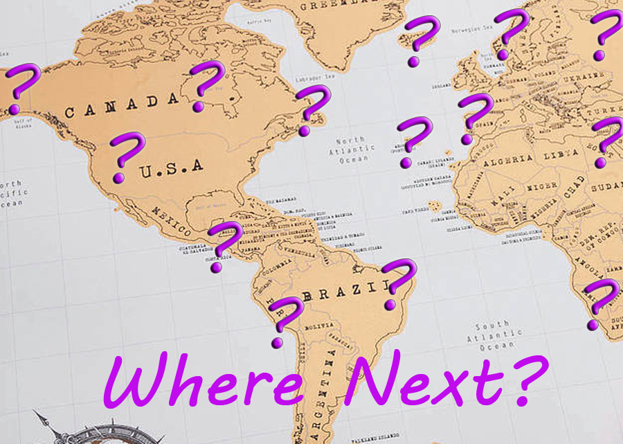 Fill a Basket of Travel Dreams – Fill In Travel Map