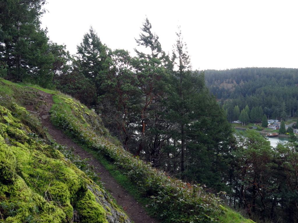 Goose Rock trail.