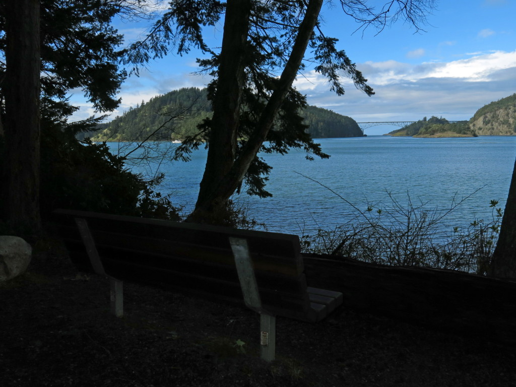 View of Deception pass.