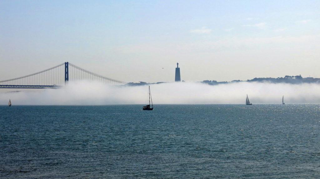 Lisbon fog.