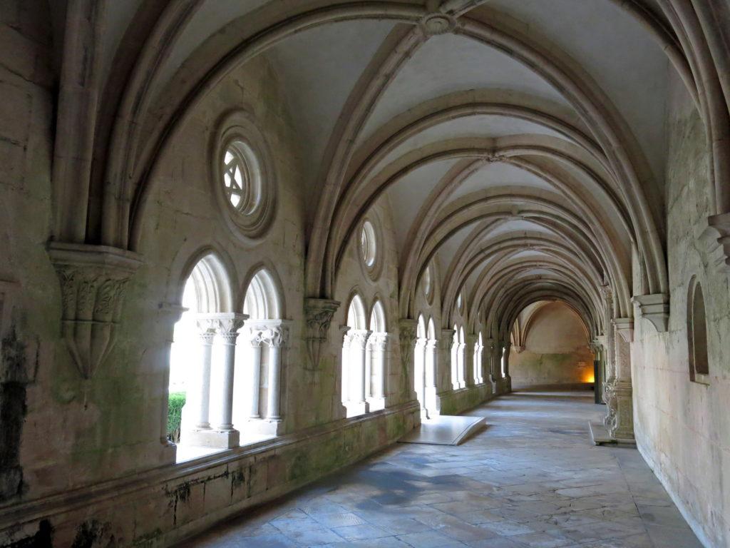 Alcobaca monastery cloister